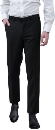 8dc46a7fe0078 VidaXL Spodnie od garnituru męskie czarne rozmiar 50 - Ceny i opinie ...
