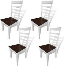 Jysk Krzesło Bannerup Biały Chrom Opinie I Atrakcyjne Ceny