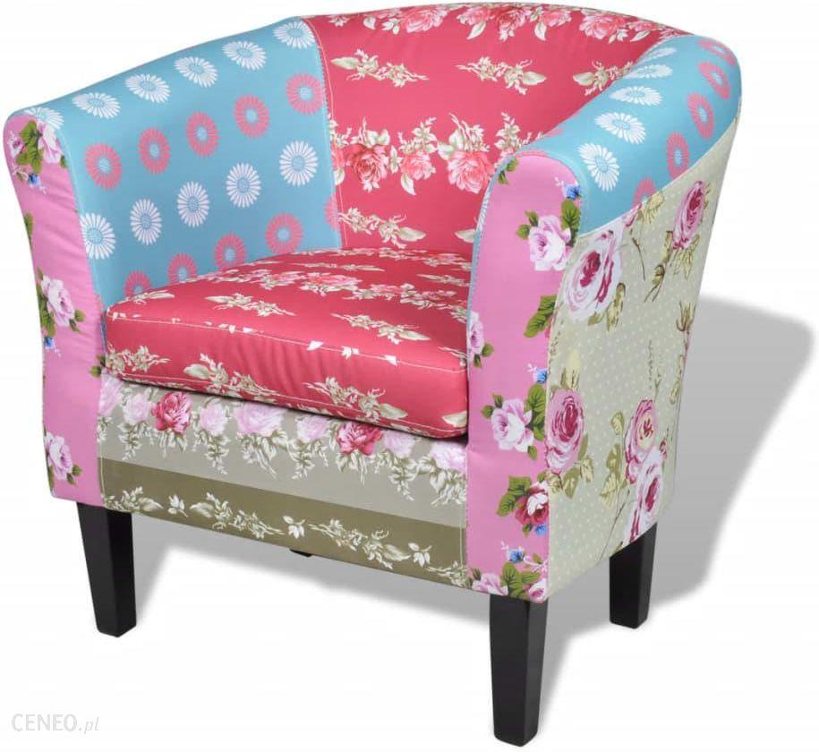 """vidaXL Patchwork Flora Design"" fotelis"