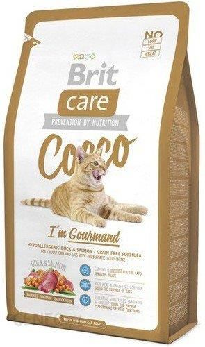 Brit Care Cat New Cocco I'm Gourmand Duck & Salmon 2kg