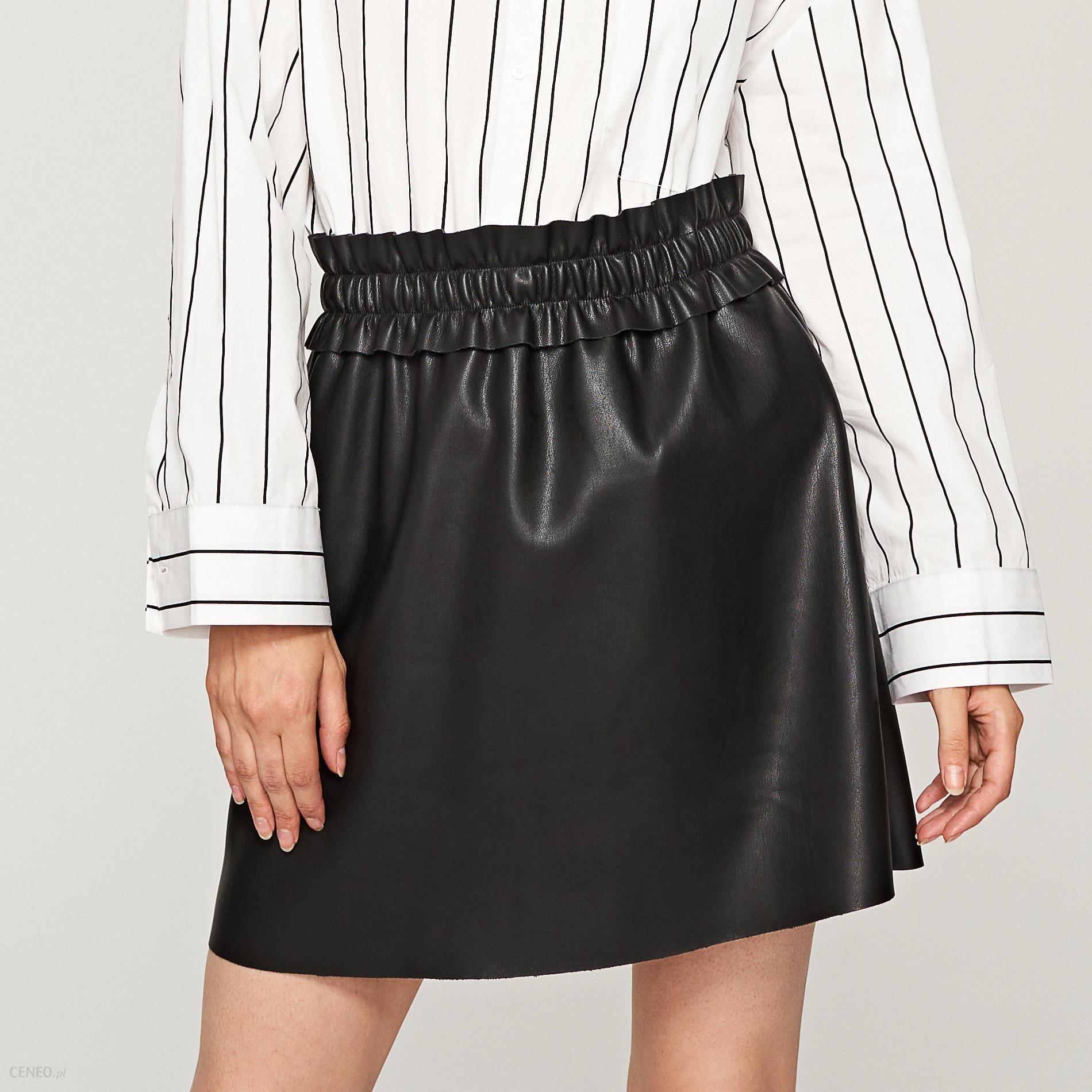 RESERVED SPÓDNICA EKO SKÓRA w Spódnice i spódniczki Moda