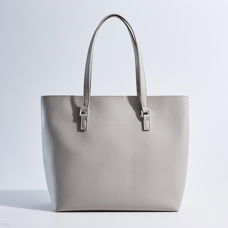 16ccd2bab08db Mohito - Minimalistyczna torba typu shopper - Szary - Ceny i opinie ...