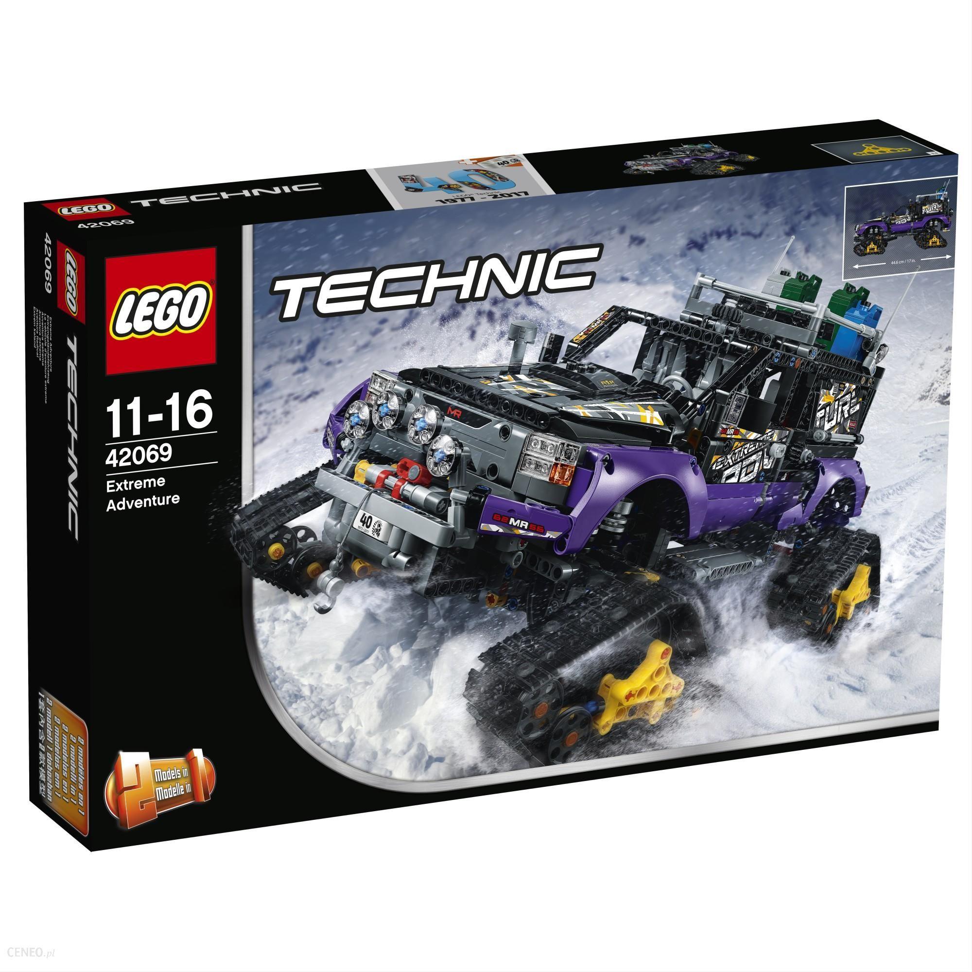 Klocki Lego Technic Ekstremalna Przygoda 42069 Ceny I Opinie