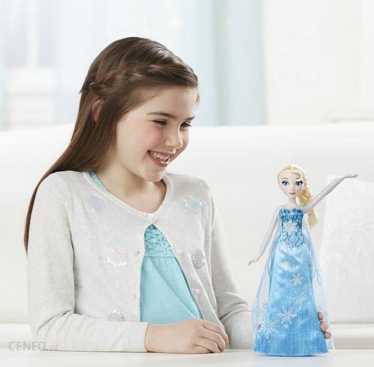 2f50358f18 ... Lalka Hasbro Disney Frozen Elsa W Muzycznej Sukni C0455 - zdjęcie 2 ...
