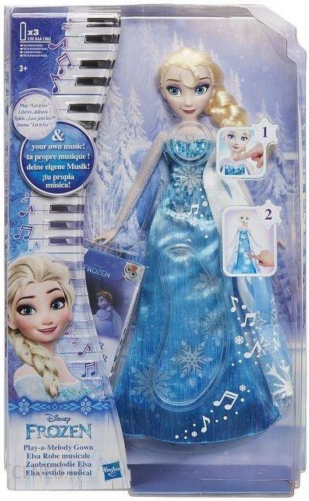 fac9c6f189 Lalka Hasbro Disney Frozen Elsa W Muzycznej Sukni C0455 - zdjęcie 1 ...