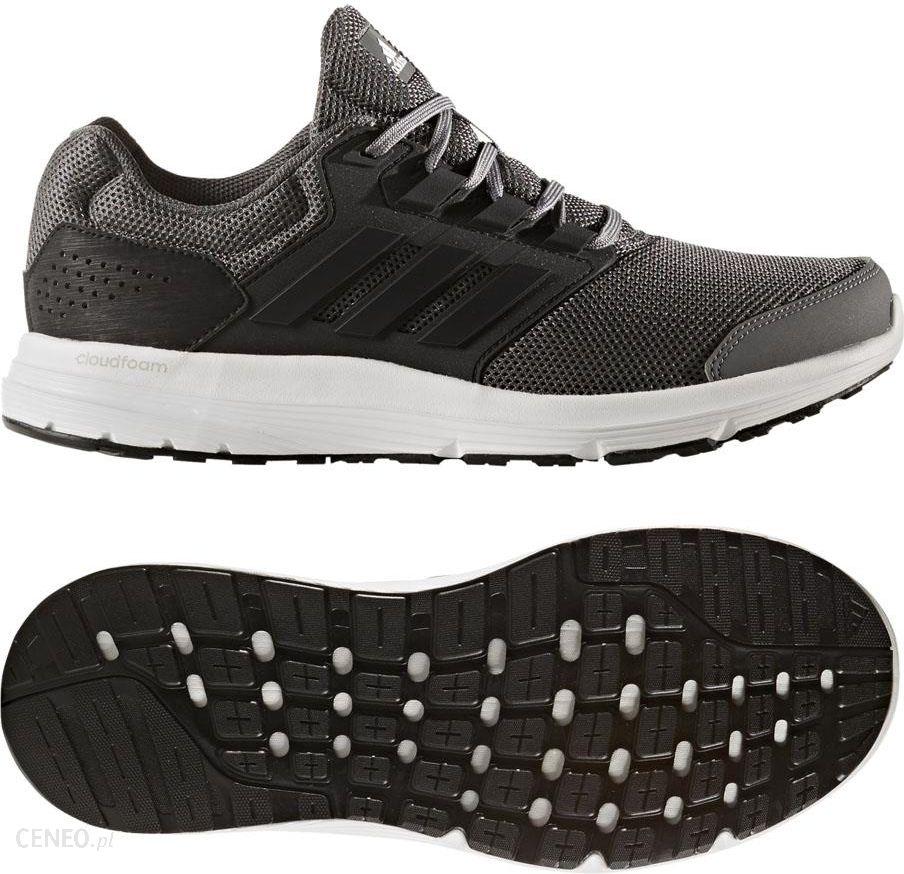buty galaxy 4 adidas czarno-biało-czerwone