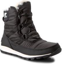4f359471d2e79f Śniegowce SOREL - Whitney Short Lace NL2776 Black 010 eobuwie