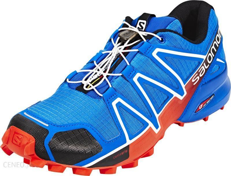 Salomon Speedcross 4 czerwony niebieski L38313200 7