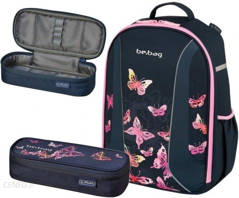 8e466e1e9ea6b Herlitz Zestaw Plecak Be.Bag Airgo Butterfly + Piórnik Saszetka - zdjęcie 1