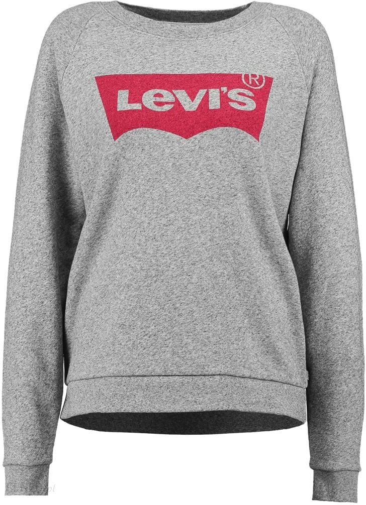 140bbd4ce Levi's® RELAXED GRAPHIC CREW Bluza smokestack heather - Ceny i ...