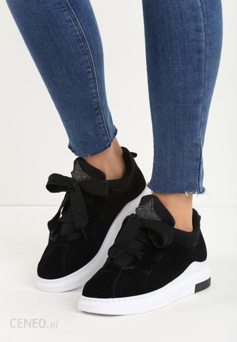 Czarne Buty Sportowe Burst