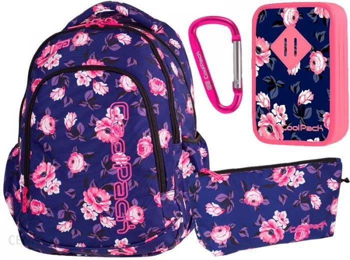 afcab39a20ff0 Patio Coolpack Zestaw Szkolny Plecak Młodzieżowy Piórnik Z Wyposażeniem  Rose Garden - zdjęcie 1