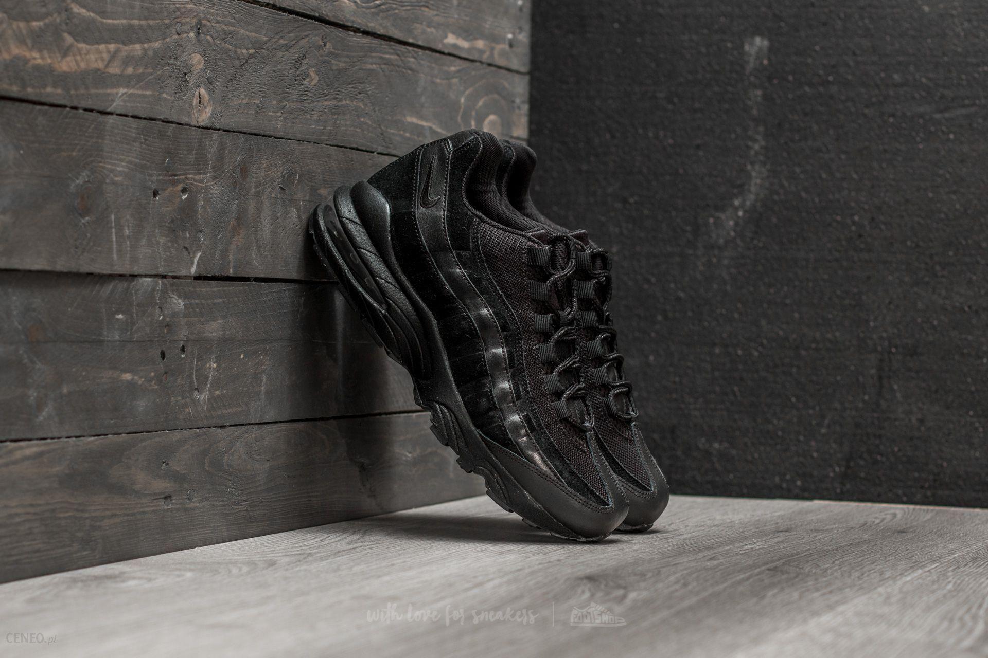 new concept 6399d 75c22 Nike Air Max 95 (GS) Black Black-Black - zdjęcie 1