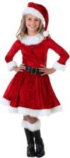 Girl Mrs. Claus Costume