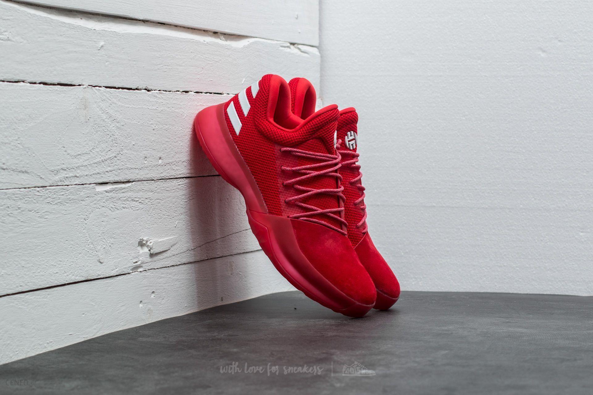 adidas Harden Vol. 1 Scarlet / Light Scarlet / Running White - zdjęcie 1