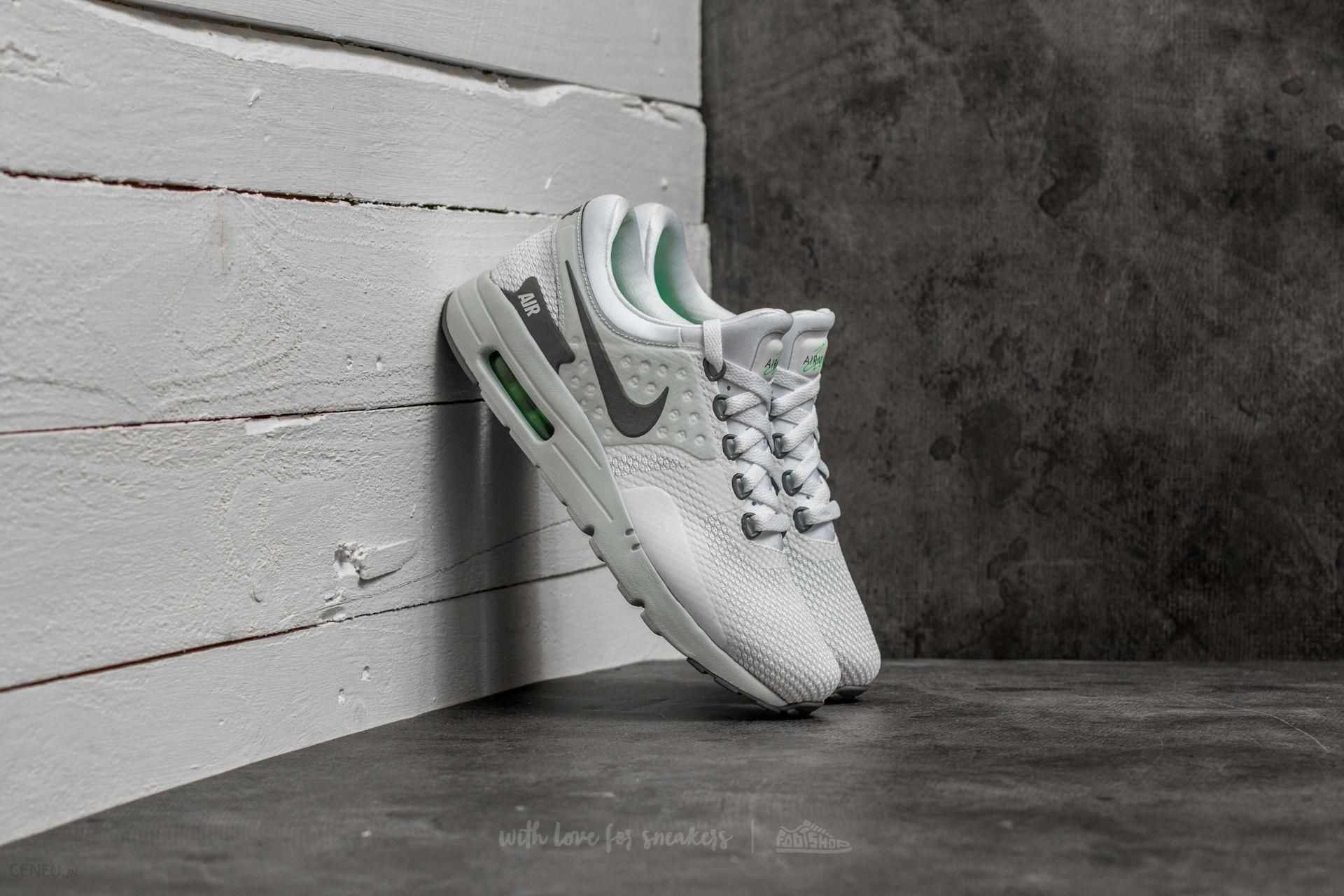 lowest price aa43e 98be2 Nike Air Max Zero Essential White/ Cool Grey-Pure Platinum