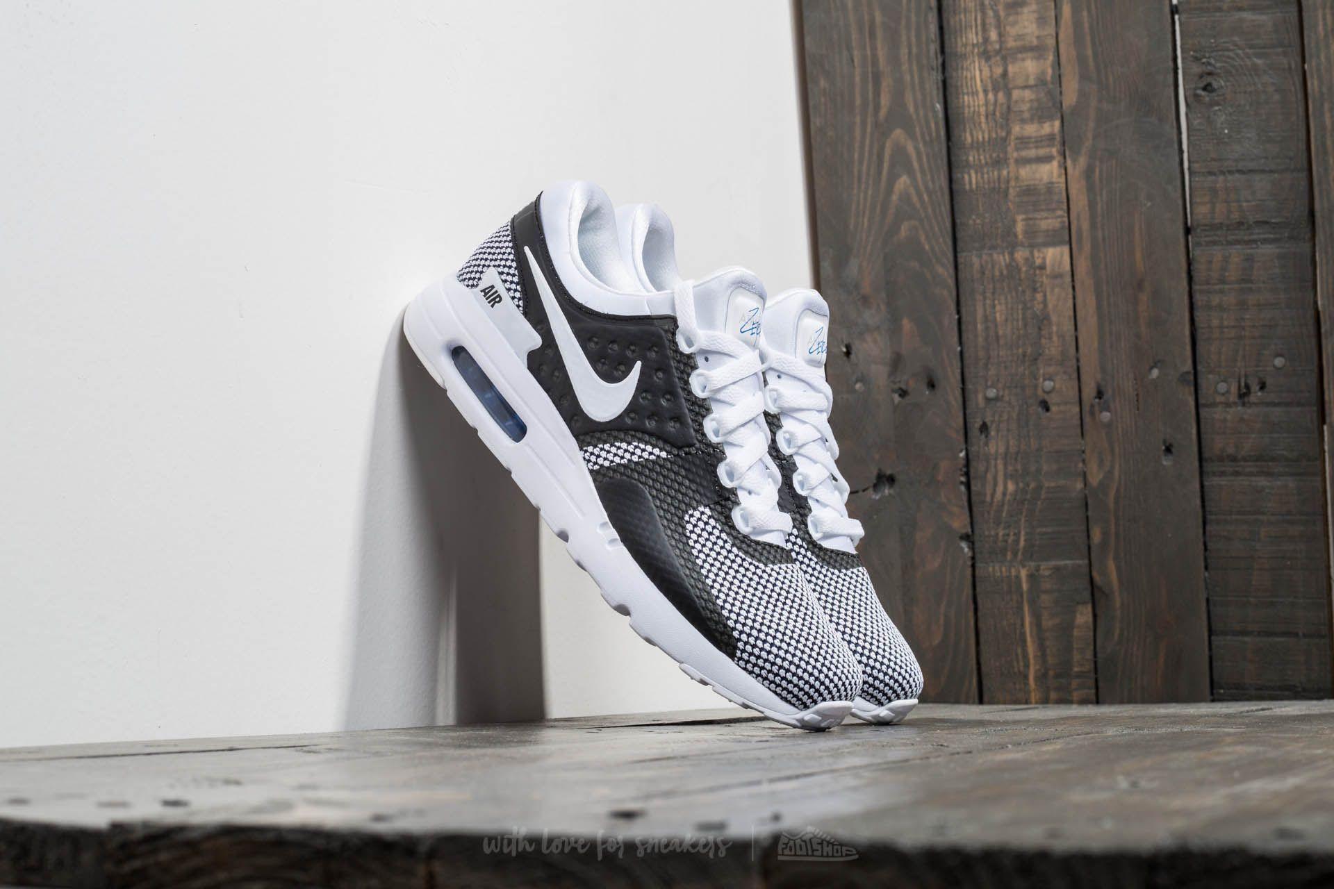 Nike Air Max Zero Essential White Black Black Ceneo.pl
