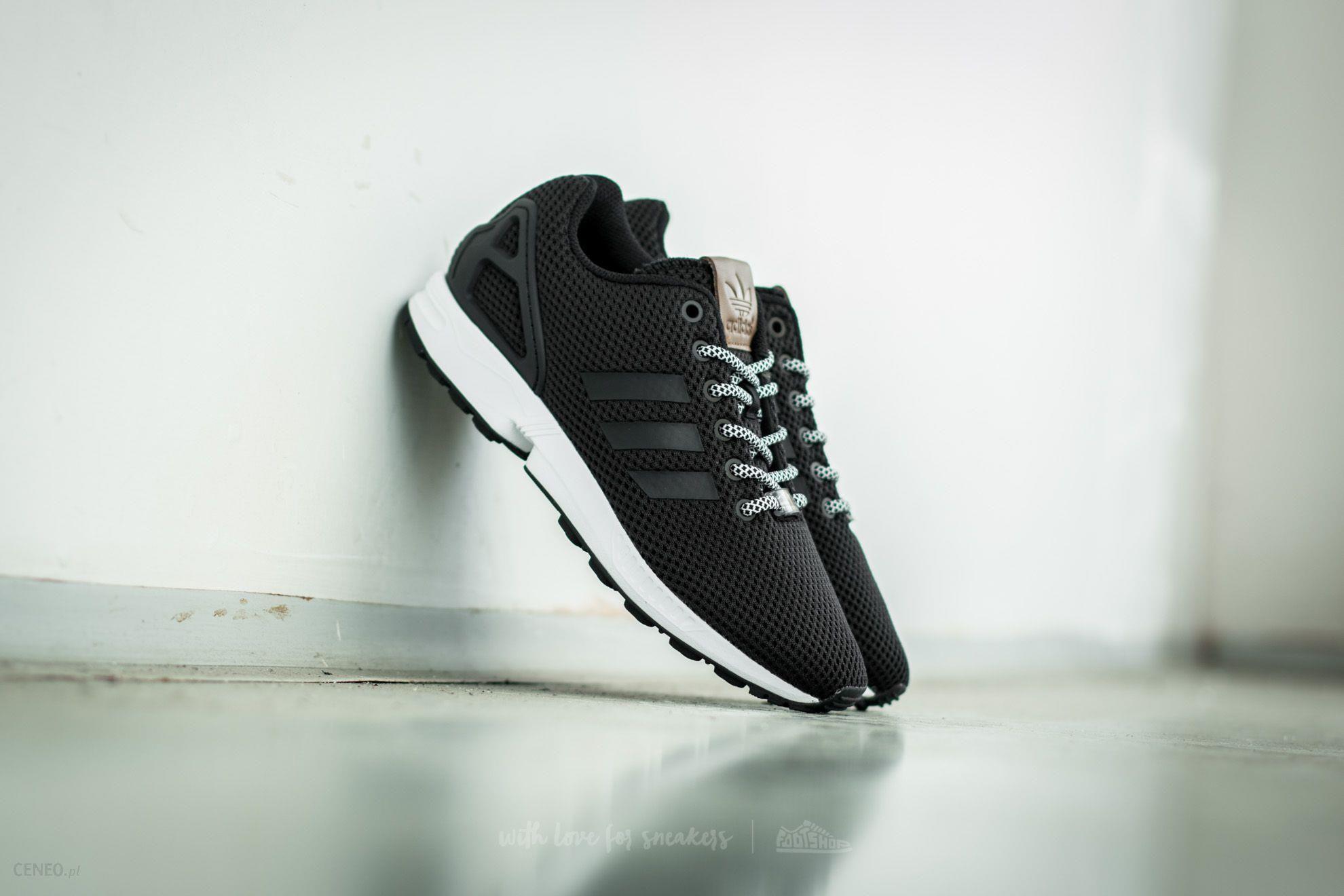 21d12ee301edd adidas ZX Flux Core Black  Core Black  Footwear White - zdjęcie 1