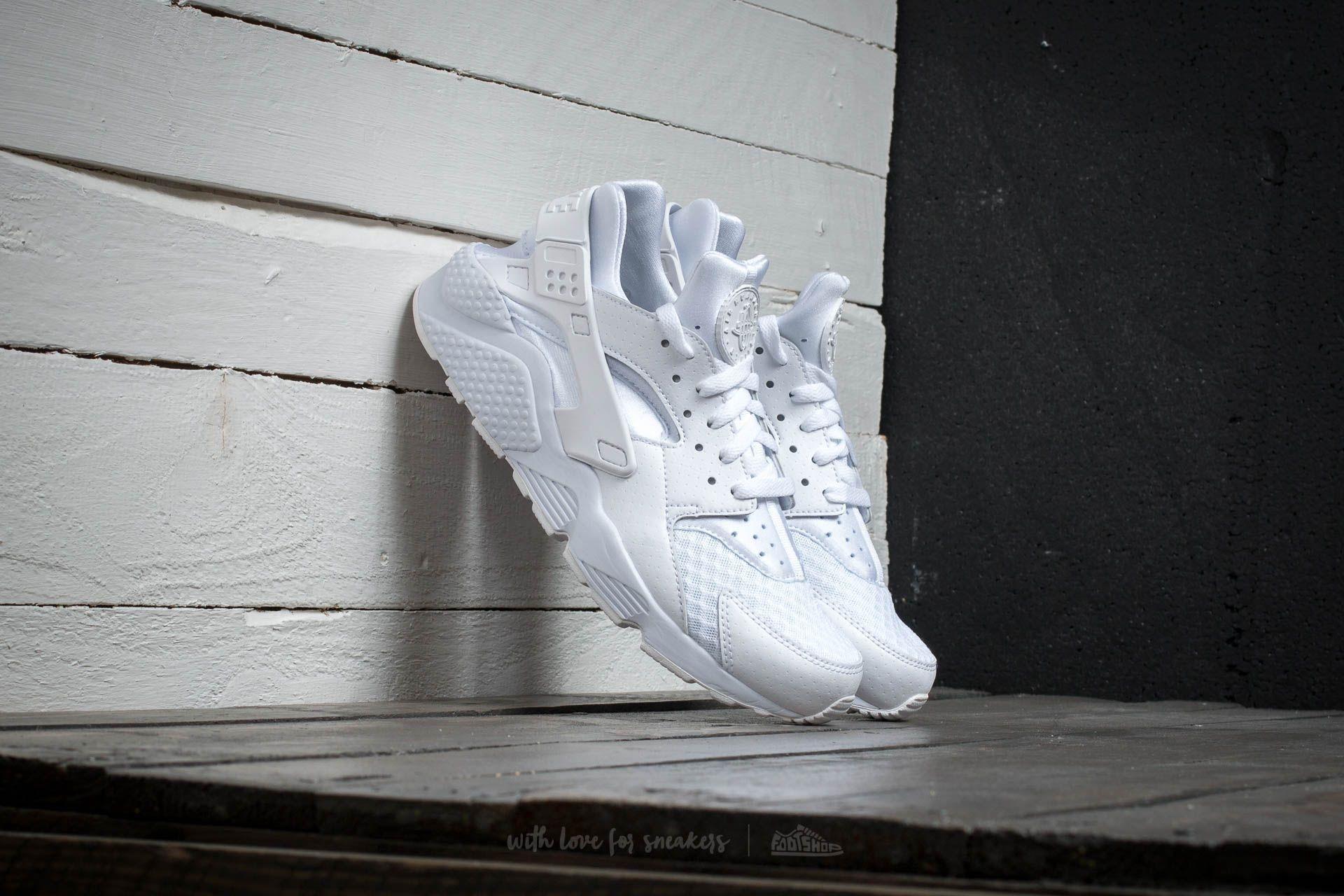 the latest aaca6 e56bd Nike Air Huarache White  White-Pure Platinum - zdjęcie 1