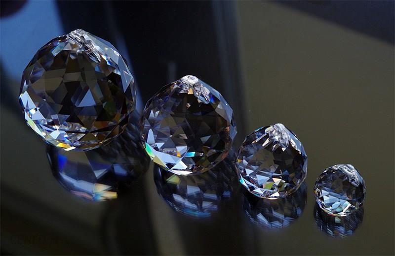 Prawdziwy Kryształ Kula Kryształowa 50mm Dekoracja Kryształowa