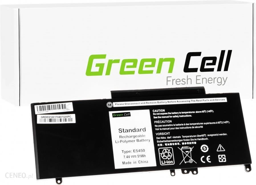 798b9c8c62bb5 Bateria do laptopa GreenCell Bateria do Dell Latitude P48G001   079VRK  6900mAh Li-Polymer 7.4