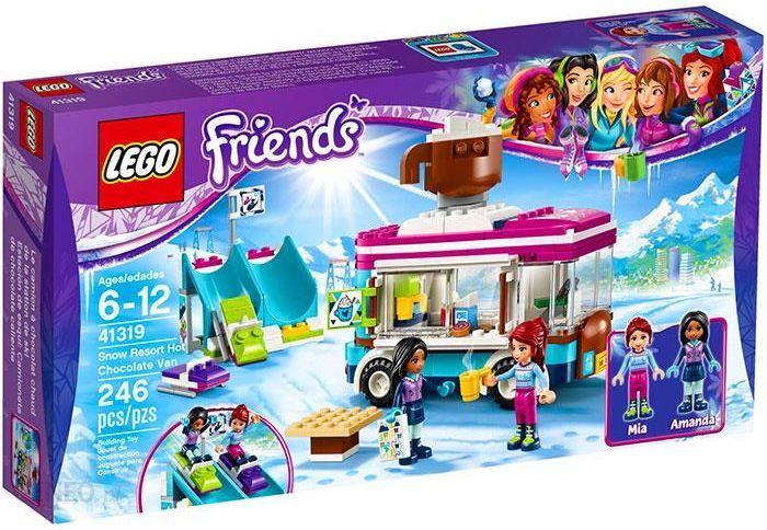 Klocki Lego Friends Furgonetka Z Gorącą Czekoladą 41319 Ceny I
