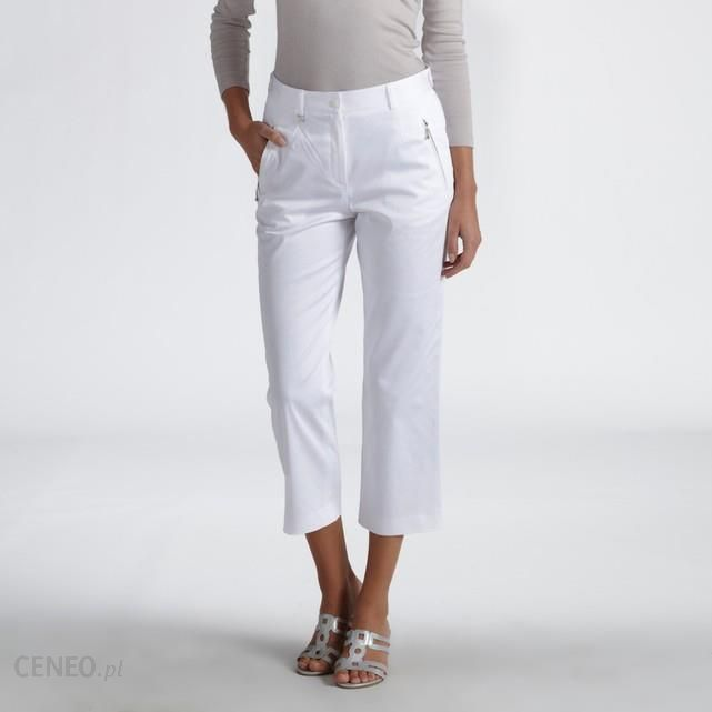 Special Travel Cotton Satin Cropped Trousers - zdjęcie 1 5aad3697795