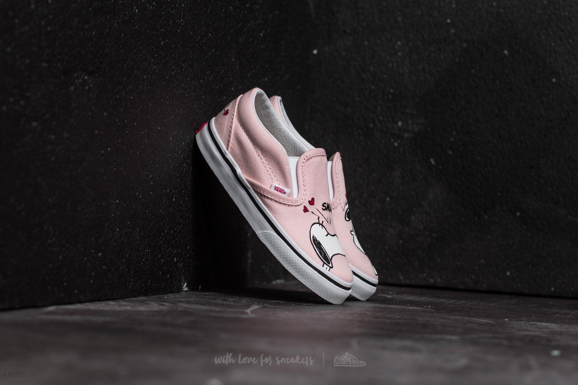 Vans X Peanuts Classic Slip On Shoes