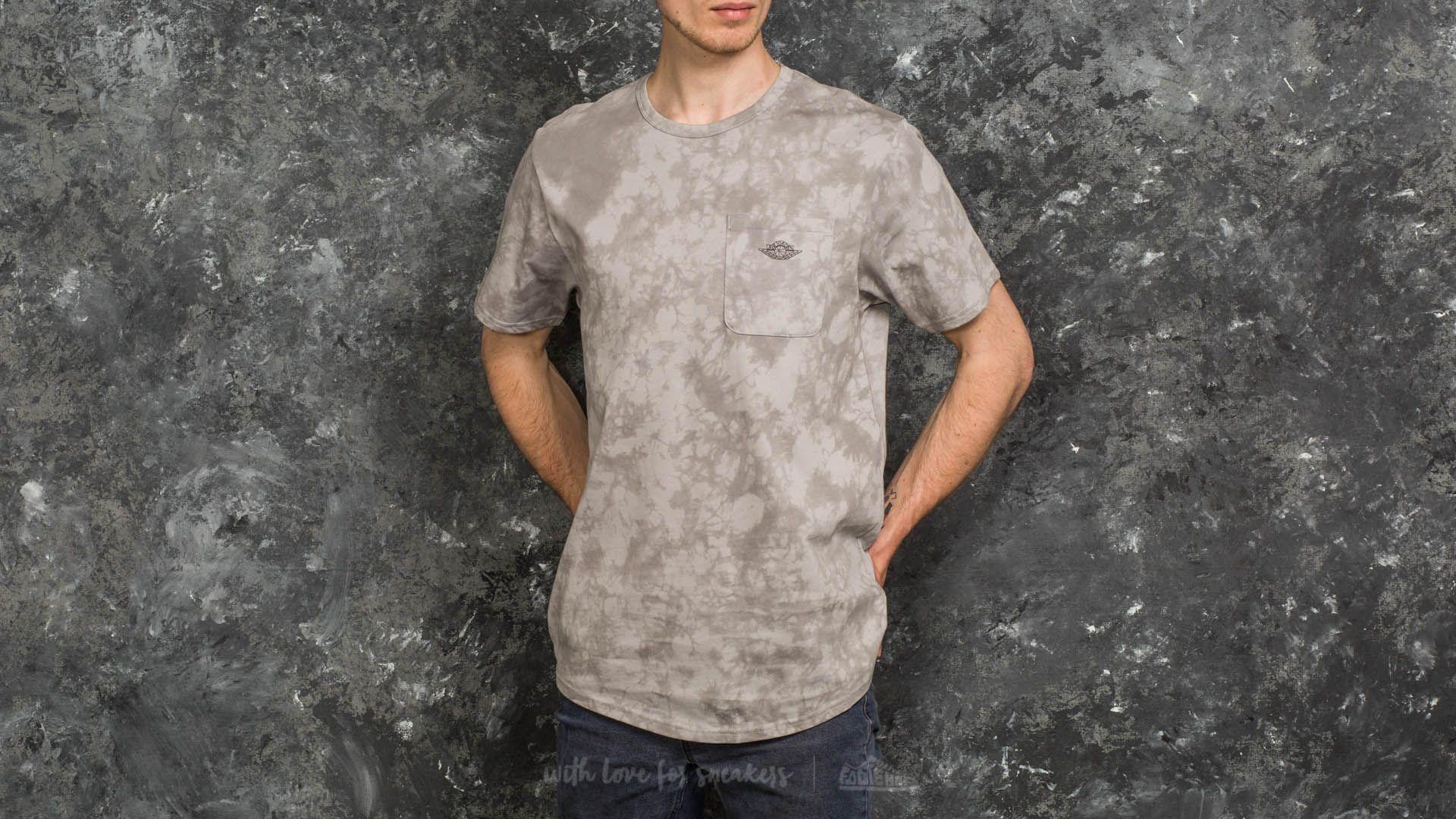 1fe7c2558c56c0 Jordan Fadeaway 23 True Shortsleeve Tee Grey - zdjęcie 1