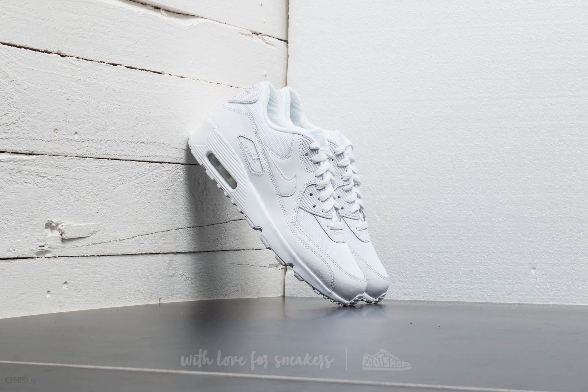 Nike Air Max 90 Mesh (GS) White White Cool Grey | Footshop