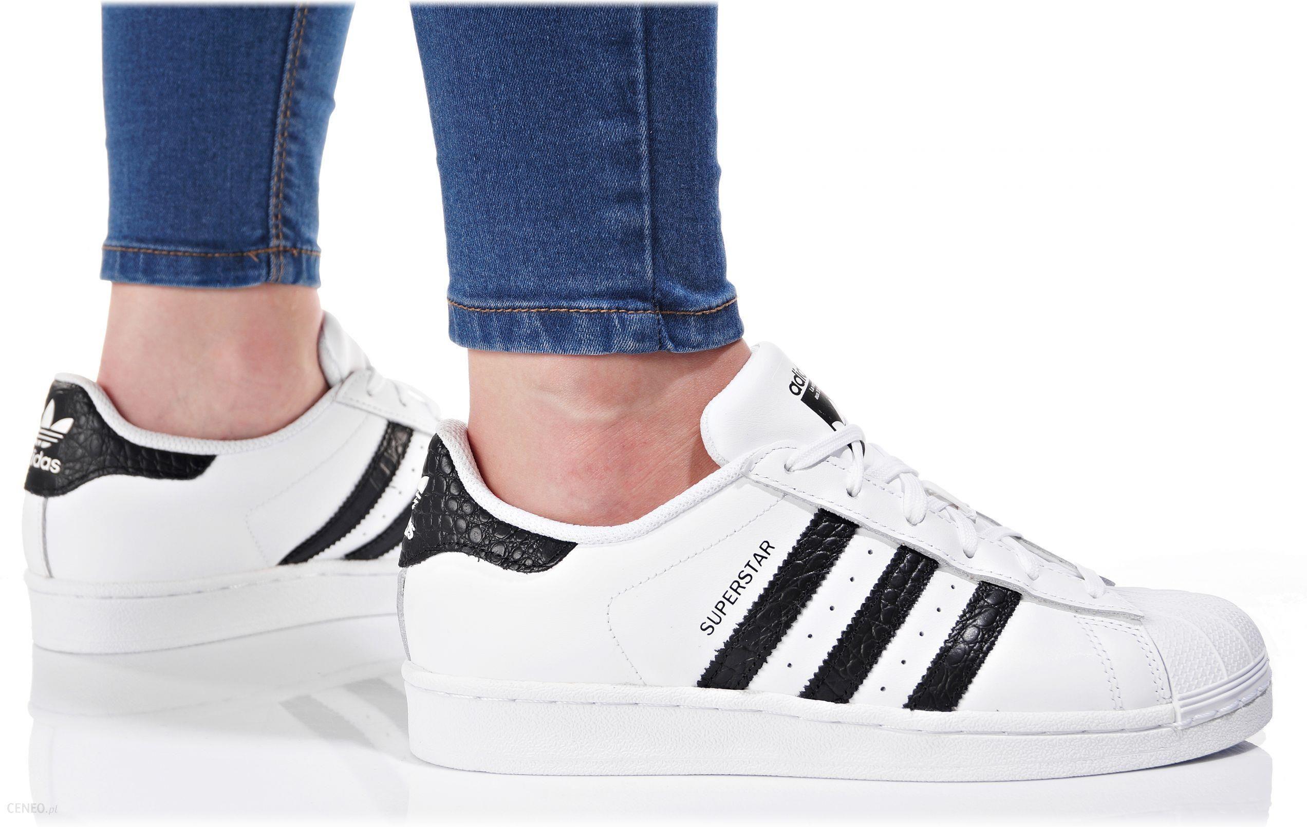 buty adidas superstar damskie biały