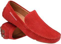 b7290c96303bf Mokasyny buty wsuwane BADURA 3219 Czerwone - Czerwony
