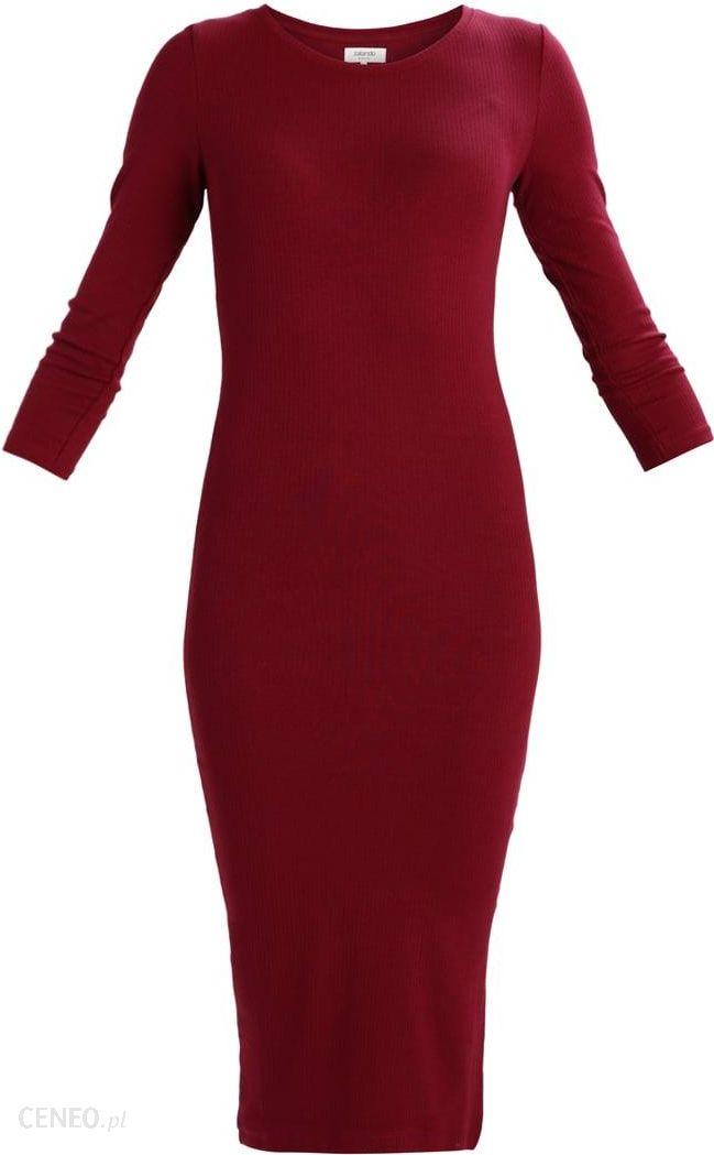 f97e26054d Zalando Essentials Sukienka z dżerseju zinfandel - Ceny i opinie ...