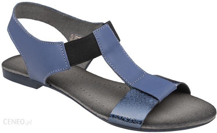 34fe570e Sandały damskie VERONII 3495 Granatowe - Granatowy || Niebieski - zdjęcie 1