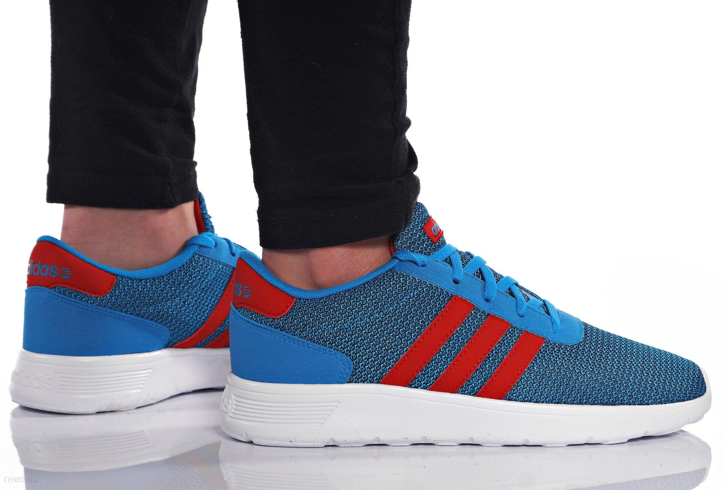 best sneakers 6e48b 56a5f Buty Damskie Adidas Lite Racer K F97937 Niebieskie - zdjęcie 1