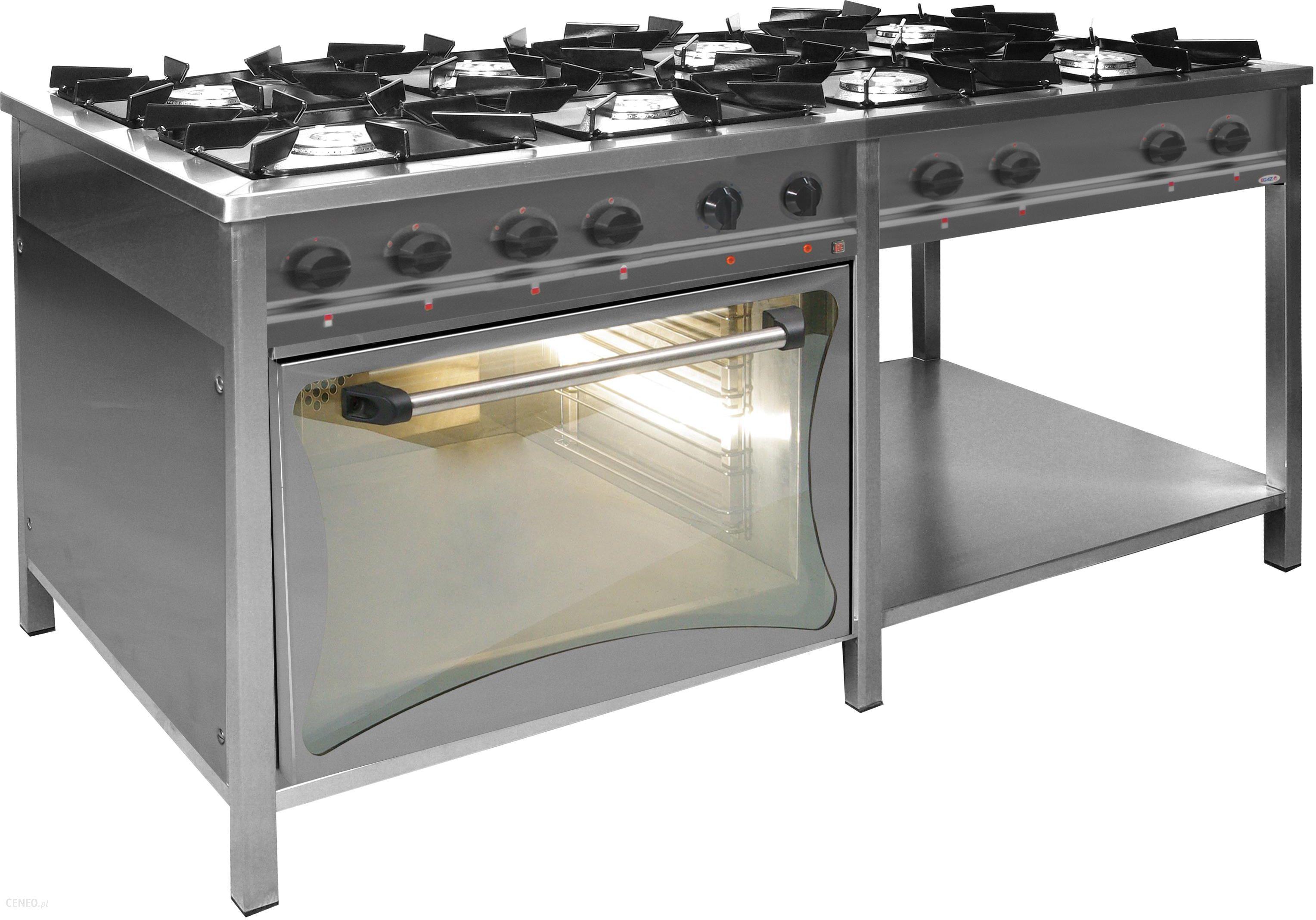 Egaz Kuchnia Gazowa 8 Palnikowa Z Piekarnikiem Elektrycznym 483 Kw