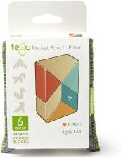 727dfb2c6fc6a Tegu Drewniane Klocki Magnetyczne Pocket Pouch Prism 6el. Sunset