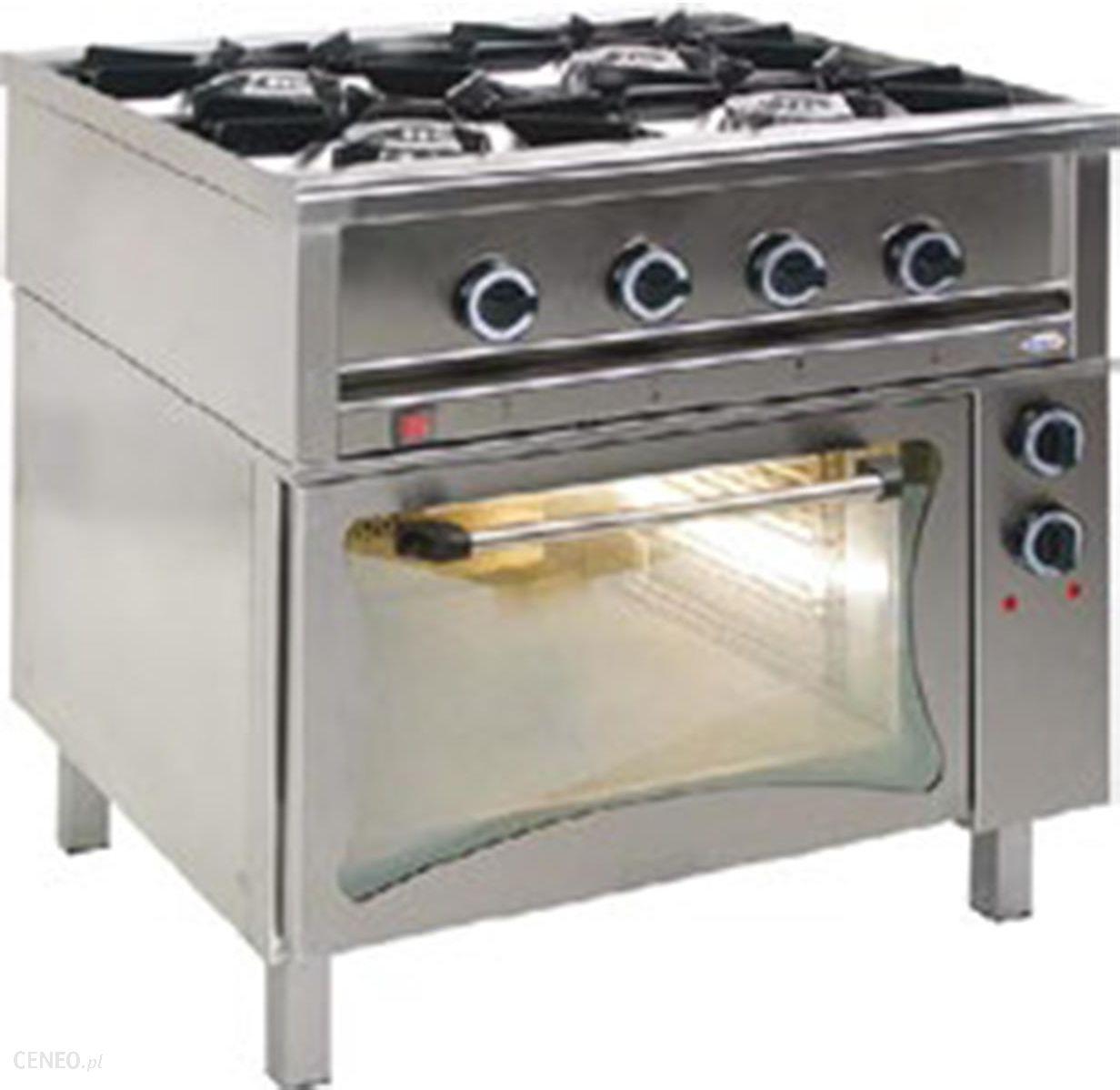 Egaz Kuchnia Gazowa 4 Palnikowa 24 Z Piekarnikiem Elektrycznym 51 Kw
