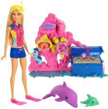 Barbie Delfiny Z Magicznej Wyspy Zabawki Ceneopl