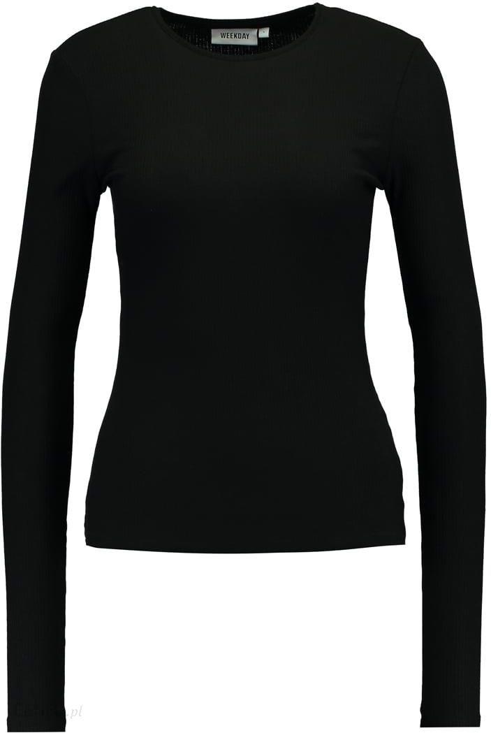 Weekday ALICE Bluzka z długim rękawem black