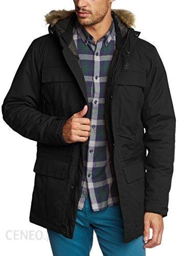 kup popularne wiele modnych niska cena Amazon Jack Wolfskin męska kurtka parka Halifax, czarny, L