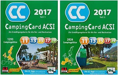 Amazon Acsi Campingcard Acsi 2016 Karta Znizkowa Na Okres Przed I
