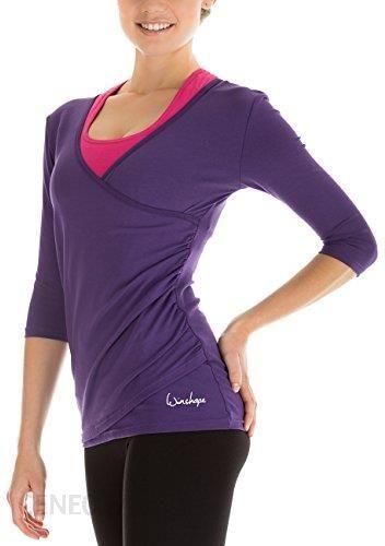 a01653d29c478 Amazon Winshape koszulka damska na zakładkę do yogi