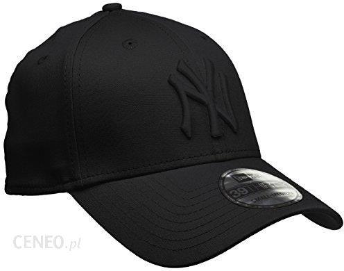 Amazon New Era 39Thirty 10145637 czapka z daszkiem z logo NY Yankees, czarna, rozmiar SM