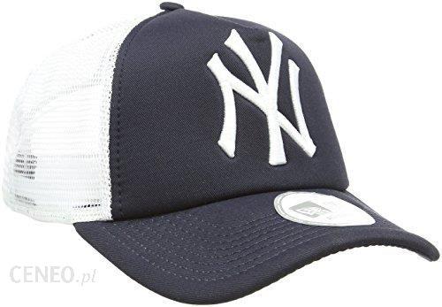 cdb3f6b9acd ... best price amazon new era unisex baseball cap czapka mlb clean trucker ny  yankees niebieski jeden ...