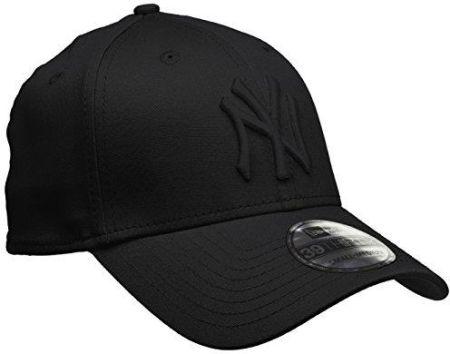 a14320630 Amazon New Era 39Thirty 10145637 czapka z daszkiem z logo NY Yankees,  czarna, rozmiar