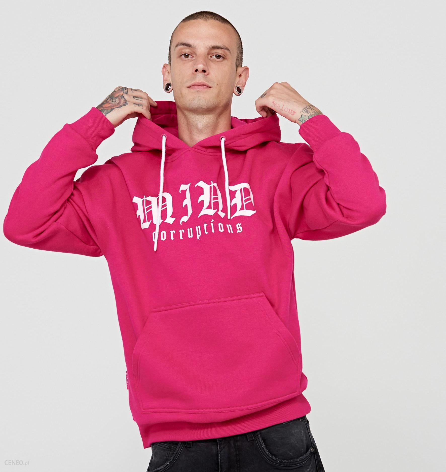 295b4eb74a Cropp - Bluza z napisem w gotyckim stylu - Różowy - Ceny i opinie ...