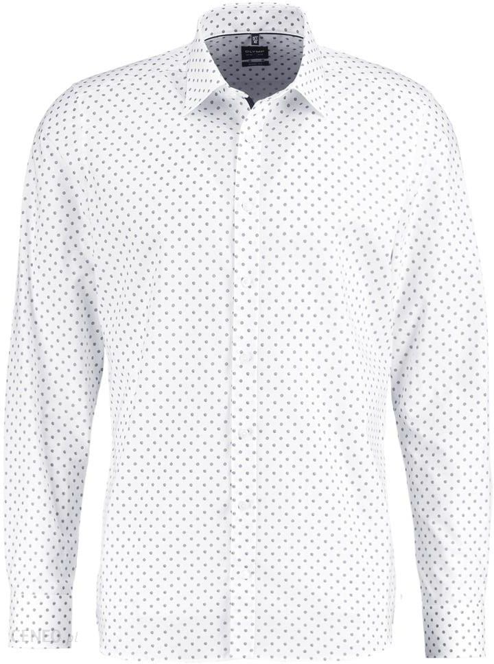 Olymp Level 5 BODY FIT Koszula white