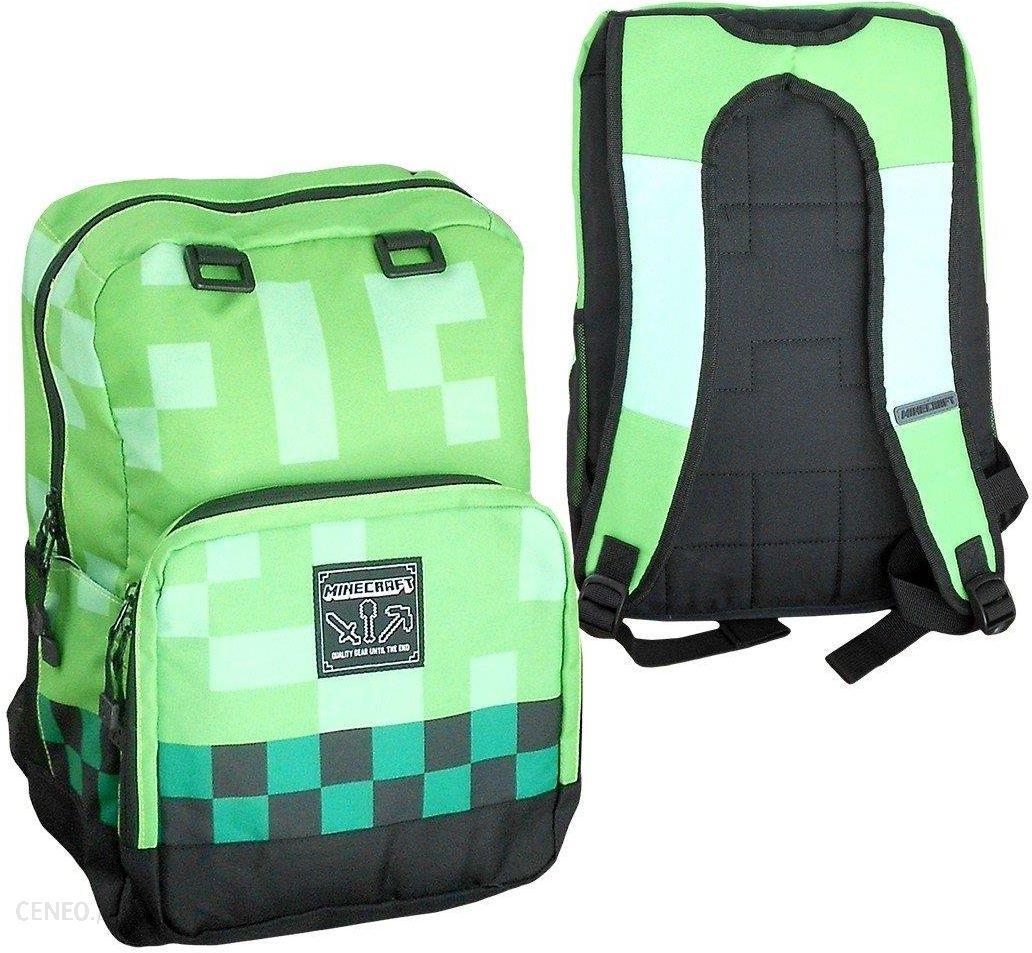 378535e5d0a5e Fashion Uk Plecak Szkolny Minecraft 44Cm Duży Zielony - Ceny i ...
