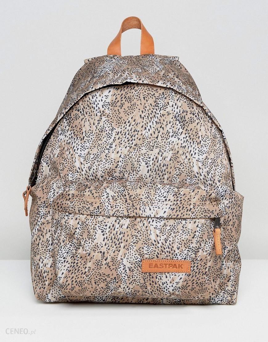 w magazynie tak tanio słodkie tanie Eastpak Padded Pak'R Backpack In Leopard - Brown